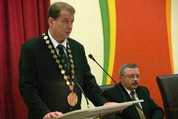 Bývalý primátor Peter Obrimčák (Smer).