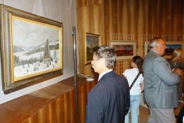Dukla vo výtvarnom umení v svidníckom Vojenskom historickom múzeu. Výstava potrvá  do konca októbra.