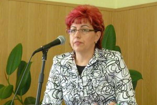 Marta Jacková. Poplatok má podľa vedúcej sociálneho odboru pokryť  30 percent nákladov mesta.