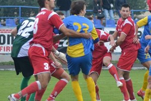 Bardejov prehral s Rimavskou Sobotou 0:1.