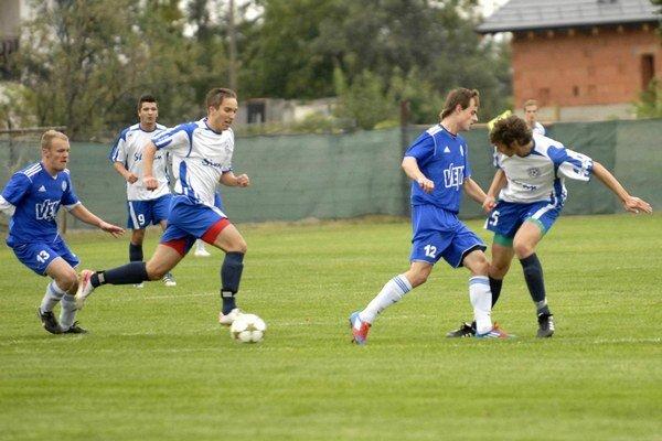 Potešili. Giraltovskí futbalisti sa v IV. lige úspešne činili.