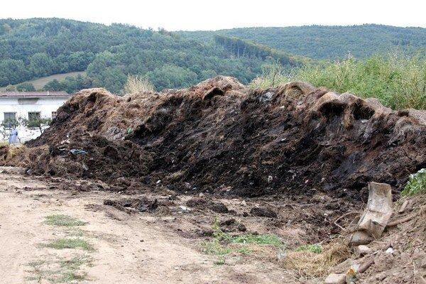 Nelegálna skládka v areáli Baposu. Zo skládky sa doteraz šíril zápach, znečistená voda a hlodavce.