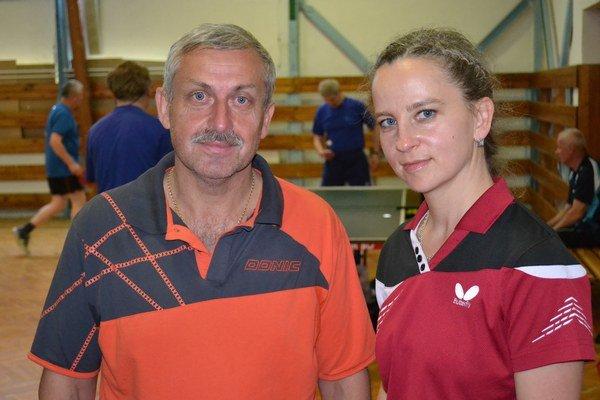 Ivan Birov a Tetjana Butko.