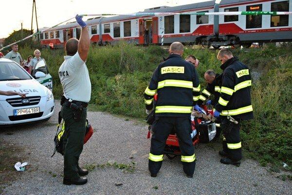 Záchranári Humenčana oživovali vyše 20 minút.