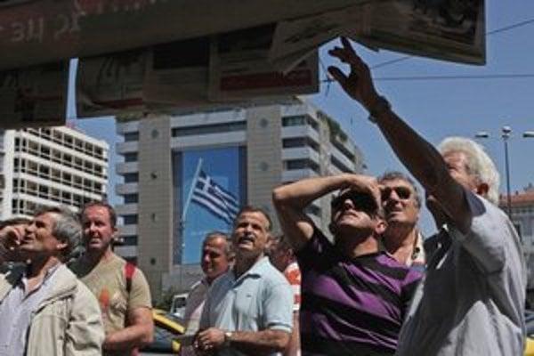 O tom, či Grécko zostane v eurozóne, alebo sa v krajine bude platiť inou menou, veľa povedia grécke voľby v polovici júna.