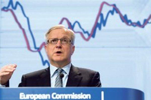 Eurokomisár pre ekonomiku Olli Rehn predpovedá Slovensku najrýchlejší rast v eurozóne.