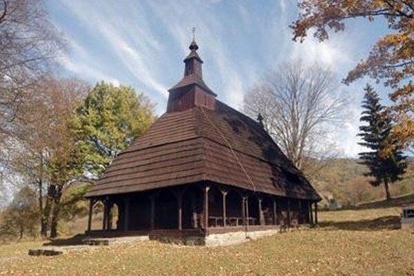 Chrám sv. Michala Archanjela v Topoli.