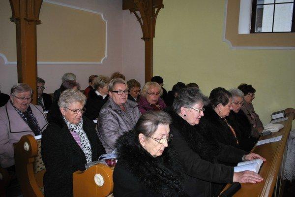 Reformovaní a evanjelici pri spoločných službách Božích.