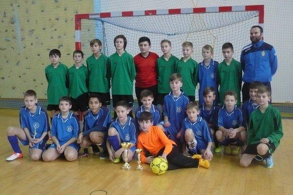 Spoločná fotografia FK Humenné U12 a U13.