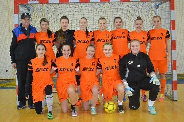 Futsalistky. Družstvo žien ŠK Štich Humenné.