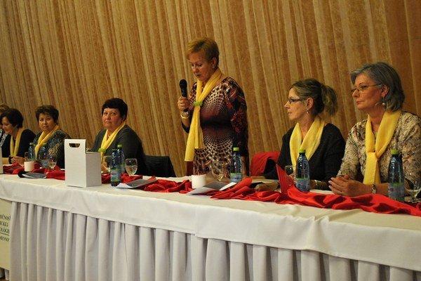 Výbor. Na Valnom zhromaždení SKO volili aj nový výbor.