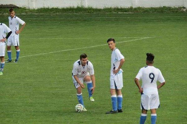 Starší dorastenci FK Humenné. Nestačili na Stropkov.