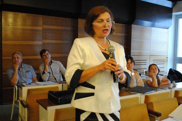 Iveta Bžánová je oponentkou projektu BUK.