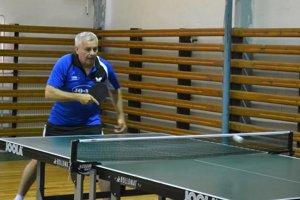 Daniel Gajdoš starší. Postaral sa o obnovenie činnosti stolného tenisu v Udavskom.