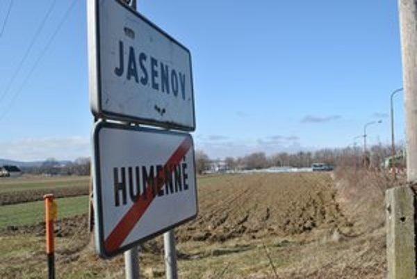 Nezhodli sa. Obec Jasenov a mesto Humenné nezosúladili svoje územné plány.