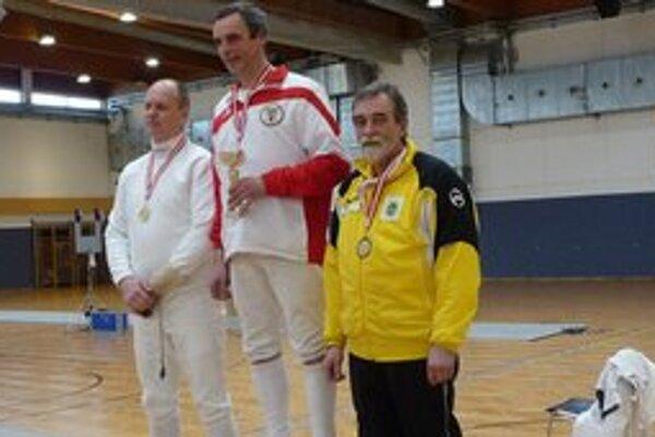 Kazík senior získal bronzový kov.