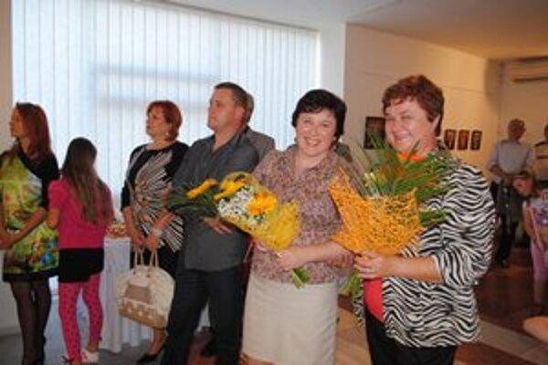 Teta a neter. Jasenovčanky Mária Haburajová a Jana Michalková sa predstavili na spoločnej výstave v Humennom.