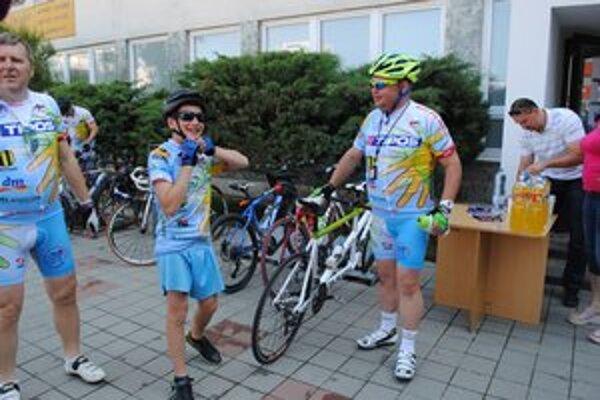 Ivan Tuli Vojtek. Účasť na charitatívnej cyklotúre pokladá za obrovskú česť a radosť.