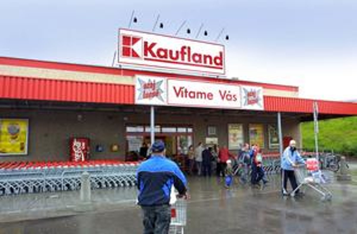 Hypermarket Kaufland otvorili v Moravciach minulý týždeň. c3b092c0519