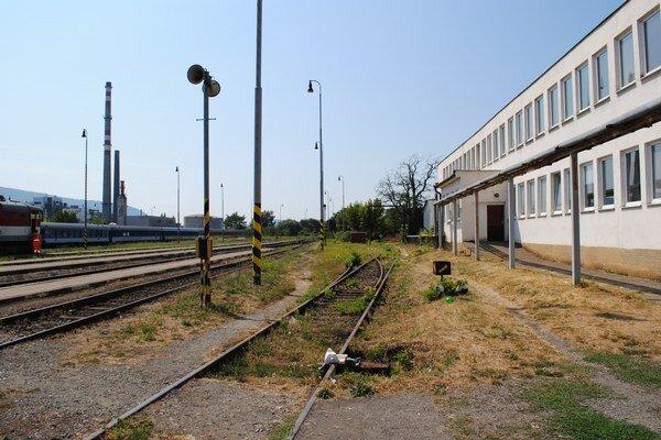 Nájazdová plošina na humenskej železničnej stanici bude v týchto miestach.
