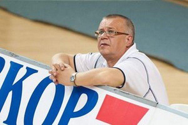 Ján Grosiar. Športový riaditeľ VK Chemes Humenné.