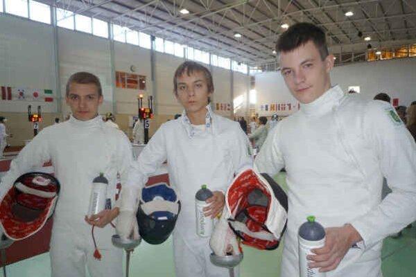 Sninské trio. (zľava) Denis Dunaj, Pavol Kováč a Branislav K.
