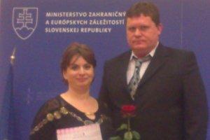 Jana Rusinková. Ocenili ju ako dobrovoľníčku roka.