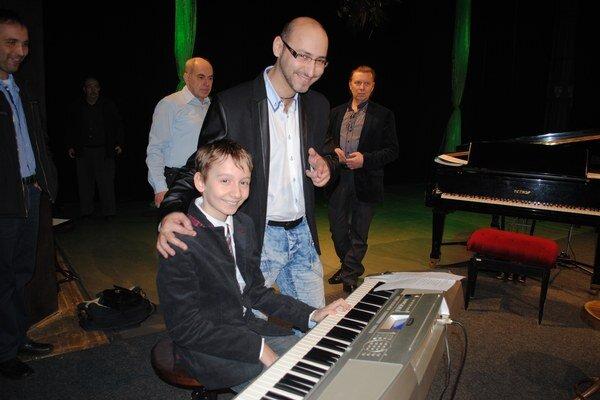 Richard Rikkon a Michal Babinčák. Zahrali si spoločne.