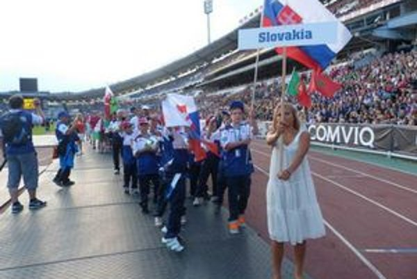 Jediní Slováci. Našu krajinu zastupoval iba 1. HFC Humenné.