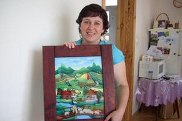 Jana Michalková najčastejšie zobrazuje dedinský život.