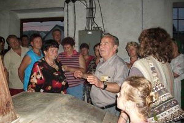 Mlyn prehovoril. Ústami Michala Džujka a Anny Brillovej (na snímke vľavo).