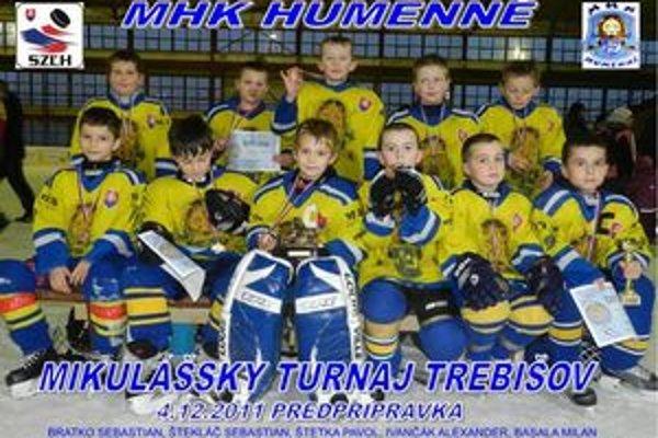 Z mikulášskeho turnaja. Predprípravka MHK Humenné.