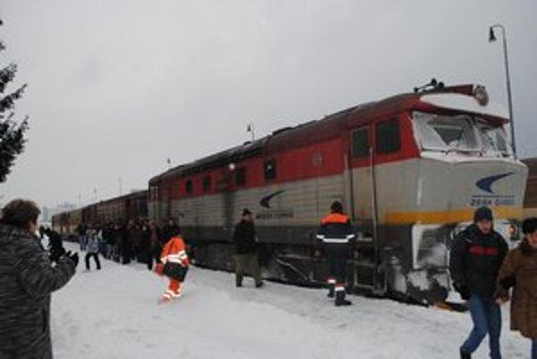 Problémy. Zo železničnej stanice v Humennom v utorok neodišlo až 15 osobných vlakov. Železničiari priznali poruchy kvôli počasiu.