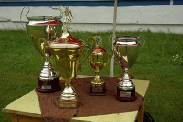 Trofeje. Odmena pre účastníkov.