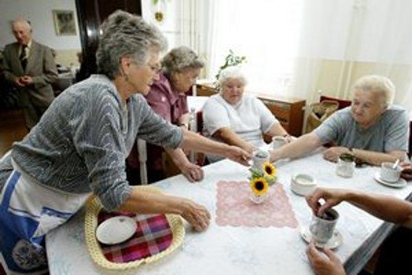 Zariadenie bude slúžiť seniorom.