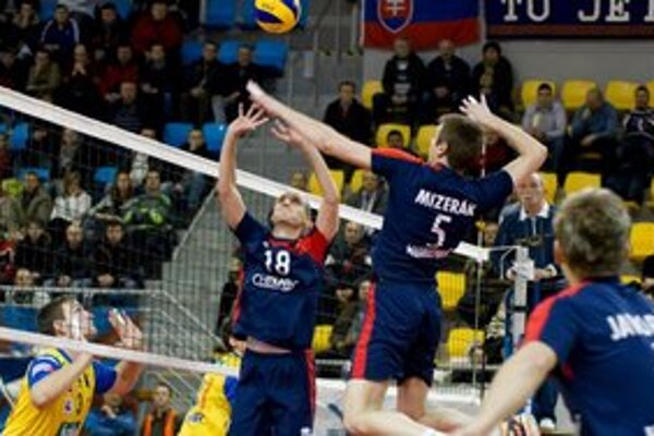 Milan Mizerák tentokrát v útočnej pozícii.