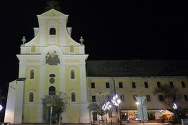 Kostol Najsvätejšej Trojice v Prievidzi.