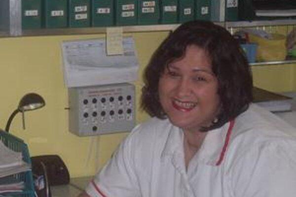 Silvia Slobodníková. Ošetrovateľka, ktorá neodkladá žiarivý úsmev