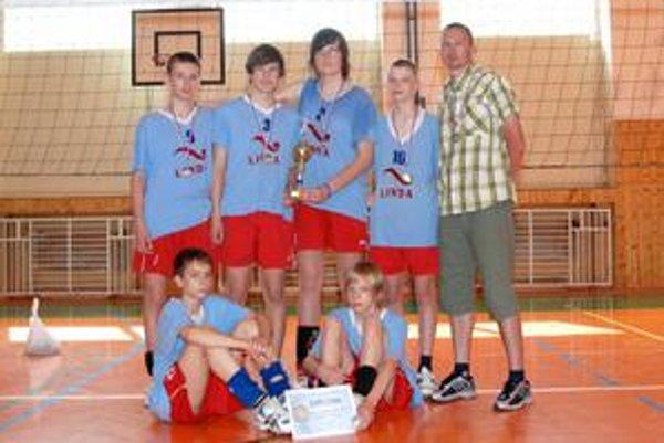 Vicemajstri. ZŠ SNP 1 Humenné - strieborní medailisti Minimaxu 2008/09.