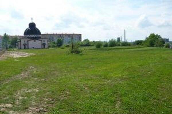 Lokalita. Na týchto miestach by mal v budúcnosti vyrásť park Sokolej.