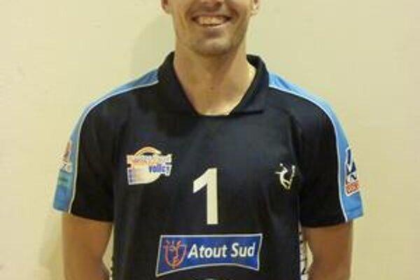 Roman Ondrušek. Prihrávajúci smečiar Nantes Rezé Metropolle Volley.