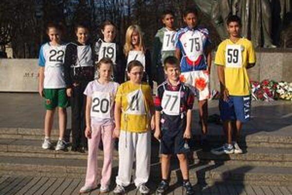 Družstvo  ŠK ŠTICH sa na bežeckých pretekoch nestratilo.