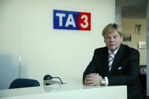 Šéf televízie Michal Gučík.