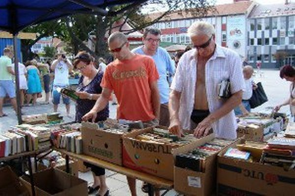Blší trh bude v centre Prievidze 16. augusta.