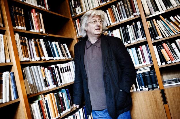Péter Esterházy v Bratislave v roku 2011.
