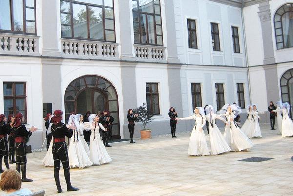 Baletné vystúpenie dokumentovalo historické udalosti.