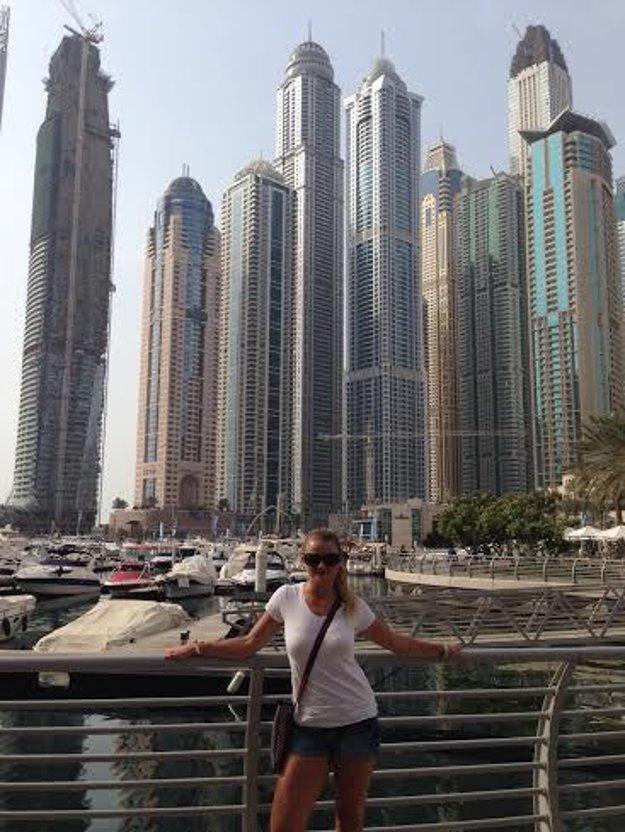 Na pobyte v Spojených arabských emirátoch