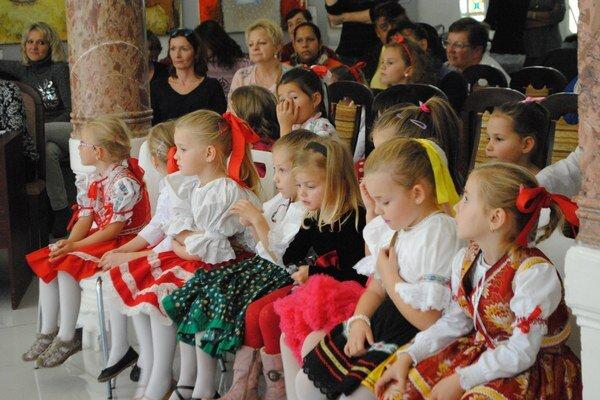 Šikovní škôlkari. Nultý ročník Talentária privítal 23 súťažiacich.