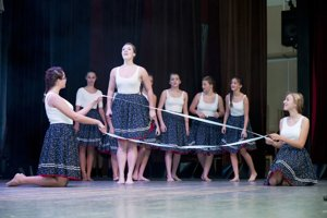 Oslavy 30. výročia vzniku MsKS. V pestrom kultúrnom programe si našli diváci aj folklór.