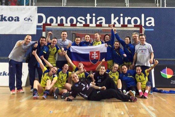 Postupová radosť. Iuventa si zahrá v osemfinále Pohára EHF.